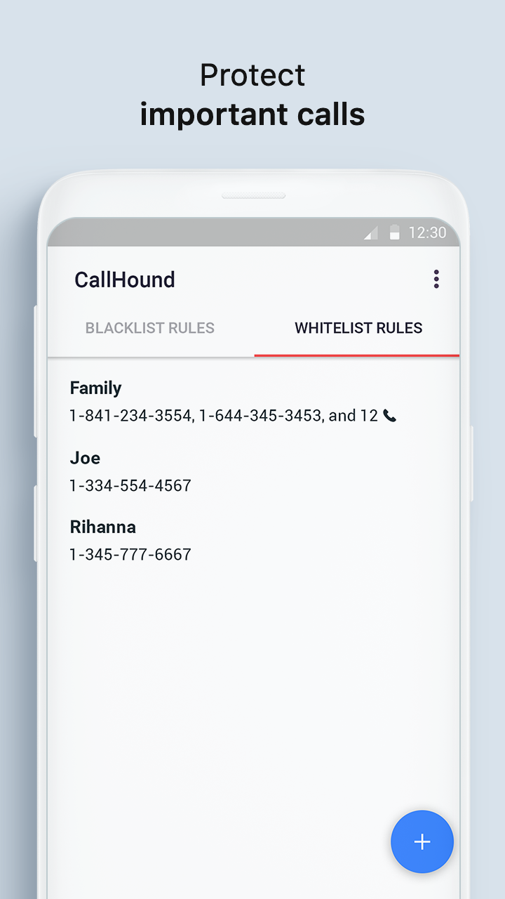 Call Blocker App for iPhone/Android CallHound  Download App